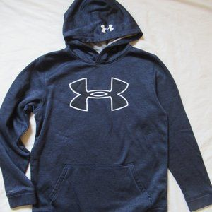 Boys Under Armour Hoodie Loose Fit Storm YXL